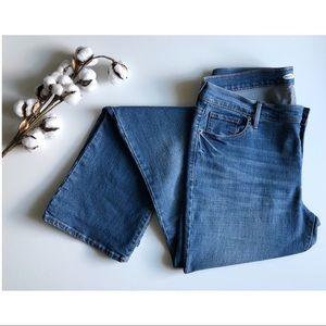 Old Navy light wash original boot cut jeans